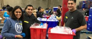 SABA members volunteer at Los Angeles Food Bank