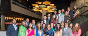 Group photo of members of South Asian Bar Association of Southern California