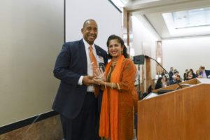 Hon Andre Birotte Jr., recipient of the SABA-SC PIF Judicial Appreciation Award