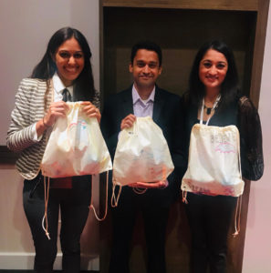 SABA-SC members with their conference swag at SABA North America conference