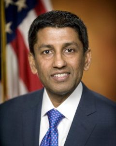 Judge Sri Srinivasan Elevated to Chief Judge of the U.S. Court of Appeals for the District of Columbia